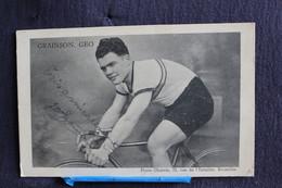 Yo- 59 / Sports - Cyclisme,  Grainson Geo  Coureur Cycliste,  (Photo Charel Bruxelles)   / - Ciclismo