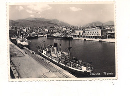 PA886 Sicilia PALERMO 1955 Viaggiata Nave Porto - Palermo