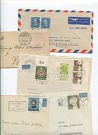 8500) 10 Belege Gesamtdeutschland - Machine Stamps (ATM)