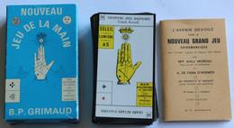 Nouveau Jeu De La Main 56 Cartes Cartomancie Voyance Chiromancie Arts Graphiques Lorrains 1965 B. P. Grimaud - Religion & Esotérisme
