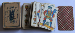 Jeu De 48 Cartes Aluette Cartomancie Voyance B. P. Grimaud Vache 54 Rue De Lancry Paris Années 40-50 - Religion & Esotérisme