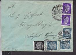 Brief Deutsches Reich Stempel Riedlingen 1942 , Zensur In Die Schweiz - Storia Postale