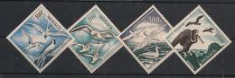 Monaco - 1955 - Poste Aérienne PA N°Yv. 55 à 58 - Oiseaux - Neuf Luxe ** / MNH / Postfrisch - Marine Web-footed Birds