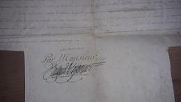 LOUIS STANISLAS XAVIER FILS DE FRANCE FRERE DU ROY.COLLEGIALE DE VENDÔME DIOCESE DE BLOIS.1785.DUC D'ANJOU,ALENCON,VENDÔ - Historical Documents