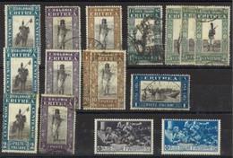 ERITREA 1930 - Selezione Nuovi E Usati (1298) - Eritrea