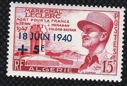 Année 1957-N°345 Neuf**MNH :  17°anniversaire De L'Appel Du Général De Gaulle (Maréchal LECLERC) - Nuovi