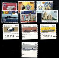 (074,129,565,567,572,785) Ceylon / Sri Lanka  Small Lot Ex 1966-2007  ** / Mnh  Michel 346//1674 - Sri Lanka (Ceylon) (1948-...)