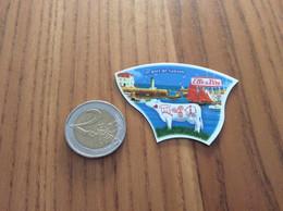 """Magnet Elle & Vire """"Le Port De Sauzon"""" (vache, Phare, Voilier) - Magnets"""