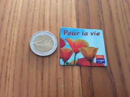"""Magnet """"Pour La Vie - CONTRE LE CANCER - LA LIGUE"""" - Magnets"""