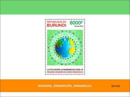 BURUNDI 2021 - COVID-19 Healthcare Personnel S/S. Official Issue [BUR2102b] - Enfermedades