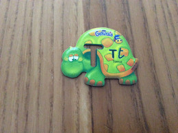 """Magnet Gervais """"T - TORTUE"""" - Magnets"""