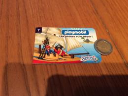 """Livret 12 Pages Playmobil/Gervais N°7 """"Les Pirates Et Le Trésor"""" - Other"""
