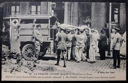 WWI Germany Bavaria Unit Red Cross Ambulance Soldier Transport -photo Postcard RPPC - Equipment