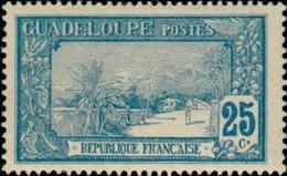 GUADELOUPE - La Grande Soufrière - Ungebraucht