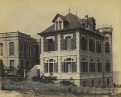 France Pontaillac Villa Les Roches Surprise Architecte Rateau Ancienne Photo Albert Levy 1890 - Ancianas (antes De 1900)