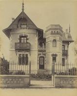 France Royan Villa Iris Architecte Pichot Ancienne Photo Albert Levy 1890 - Ancianas (antes De 1900)