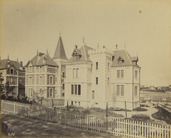 France Pontaillac Villa Architecte Pasqueau Ancienne Photo Albert Levy 1890 #1 - Ancianas (antes De 1900)