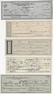 United States USA 1894 / 1946 5 Receipt For Watertown Commandery Knight Templar Order Of Templar Freemasonry - United States