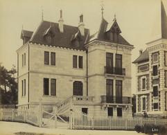 France Pontaillac Villa Architecte Pasqueau Ancienne Photo Albert Levy 1890 #2 - Ancianas (antes De 1900)