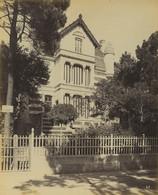 France Royan Villa Gabrielle Architecte Laurent Ancienne Photo Albert Levy 1890 - Ancianas (antes De 1900)
