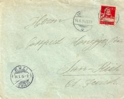 Brief  Ambulant - Tann Rüti            1915 - Covers & Documents