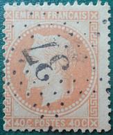R1311/19 - NAPOLEON III Lauré - N°31 - ETOILE N°37 De PARIS - 1863-1870 Napoleon III Gelauwerd