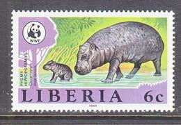 LIBERIA  1009    **  PYPMY  HIPPO - Nuevos