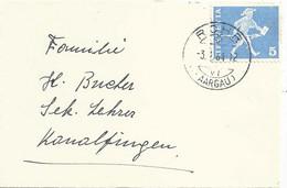 Neujahrsbrieflein  Rohr (Aargau) - Konolfingen            1964 - Covers & Documents