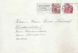Ausland Brief  Bern - Friedrichstal  (Flagge: Grosser Preis Der Schweiz)          1947 - Covers & Documents