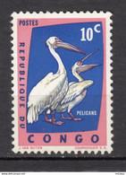 Congo, Oiseau, Bird, MH, Pélican - Pelicans