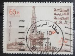 ARABIA SAUDITA 1976 -1982 Al-Khafji Oil-producing Plant. USADO - USED - Arabie Saoudite