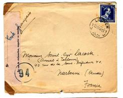 49693 - Contrôle Des  Communications - Brieven En Documenten