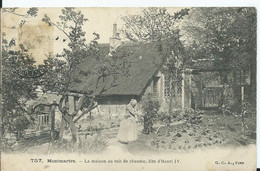 PARIS - MONTMARTRE - LA MAISON AU TOIT DE CHAUME - Sonstige