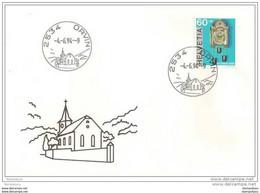 90 - 62 - Enveloppe Avec Cachet Illustré De  Orvin 1994 - 1er Jour Du Cachet - Postmark Collection