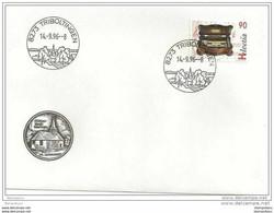 90 - 59 - Enveloppe Avec Cachet Illustré De Triboltingen  1996 - 1er Jour Du Cachet - Postmark Collection