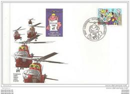 90 - 54 - Enveloppe Avec Oblitération Spéciale  Lodrino Giovanniphilatelisti 1996 - Postmark Collection