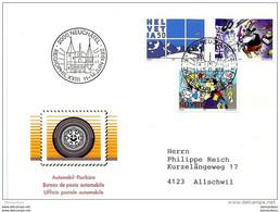 """90 - 51 - Enveloppe Avec Oblit Spéciale De Neuchâtel """"Regiophil XXII 1992"""" - Postmark Collection"""