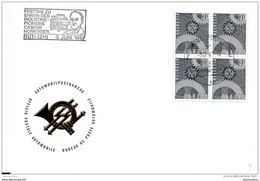 "49 - 91 -  Enveloppe Avec Oblit Spéciale ""Festtag Zu Ehren Des Industriepioniers Caspar Honegger 1967"" Rüti - Postmark Collection"