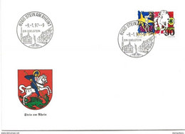 "201 - 91 - Enveloppe Avec Cachet Illustré ""Stein Am Rhein 1997"" - Postmark Collection"