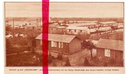 Orig. Knipsel Coupure Tijdschrift Magazine - Harderwijk - Interneringskamp , Heidekamp - Unclassified