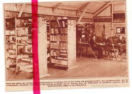 Orig. Knipsel Coupure Tijdschrift Magazine - Harderwijk - Interneringskamp , Bibliotheek - Unclassified