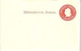 MEMORANDUM  POSTAL - Postal Stationery