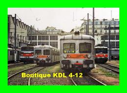 ACACF 433 - Automotrice Z 6153 Au Dépôt De La Chapelle - PARIS - SNCF - Trenes