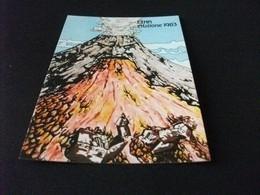 ETNA ERUZIONE 1983 SICILIA  ILLUSTRATORE L. TORRE - Other