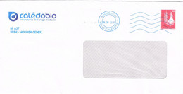 Nouvelle Caledonie Caledonia Pret A Poster Entier Postal Stationery Prive Ecole Catholique Fenetre Cad Magenta 2017 BE - Interi Postali