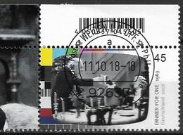 2018 Allem. Fed. Deutschland  Mi. 3415 FD-used Weiden EOL  Deutsche Fernsehlegenden : Dinner For One - Used Stamps