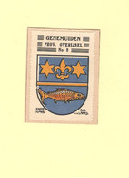 Genemuiden Wapenzegel Ca. 1925 RY50683 - Seals Of Generality