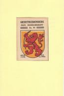 Geertruidenberg Gemeentewapen Ca.1925 RYW 1211 - Seals Of Generality