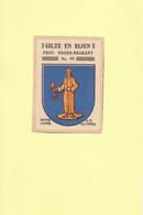 Gilze En Rijen Gemeentewapen Ca.1925 RYW 1207 - Seals Of Generality