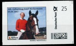 BRD PRIVATPOST Nr Josef Neckermann Postfrisch X8264BE - Private & Local Mails